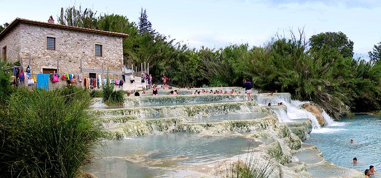 Weekend romantico alle terme di saturnia for O bagno vignoni